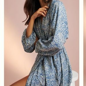 Anthropologie NAT robe maxi dress